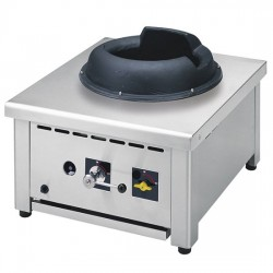 Aragaz de banc cu 1 ochi, pentru wok 18 kW