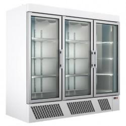 Dulap frigorific cu 3 usi, vitrat 1900 litri