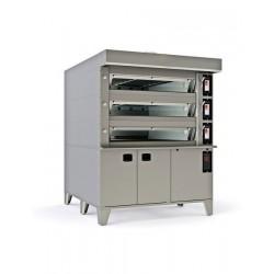 Cuptor modular cu vatra electric, 6 tavi 600x400 mm