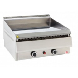 Grill gaz Fry Top, 750x690 mm