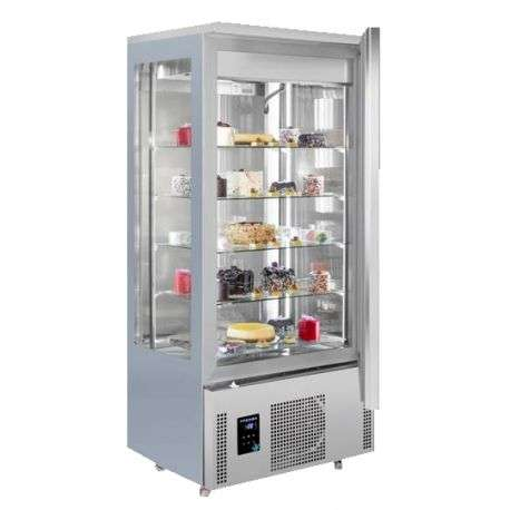 Frigider/Dulap frigorific patiserie vitrat, 400 litri