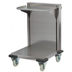 Carucior cu lift pentru tavi 350x370 mm