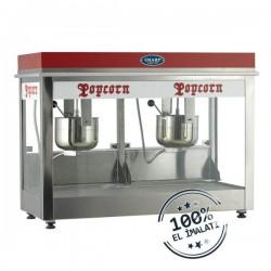 Aparat/ Masina popcorn dubla, 1150x550x850 mm