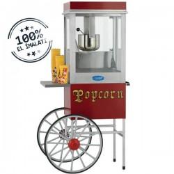 Aparat/ Masina popcorn cu carucior, 800x450x1650 mm