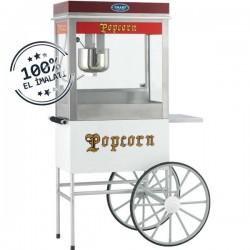 Aparat/ Masina popcorn cu carucior, 950x450x1700 mm