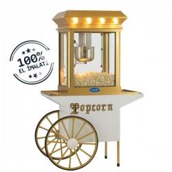 Aparat/ Masina popcorn cu carucior, 1150x500x1700 mm