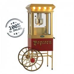 Aparat/ Masina popcorn cu carucior, 900x500x1800 mm