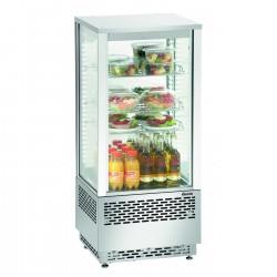 Frigider/Dulap frigorific de banc, 78 litri total inox