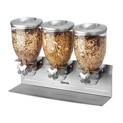 Dispenser cereale triplu