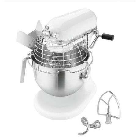 Mixer planetar KitchenAid 6.9 litri, alb