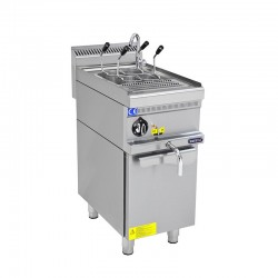 Fierbator paste, gaz, 400x700 cu suport