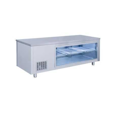 Masa rece tip vitrina / 1865x700x850 mm