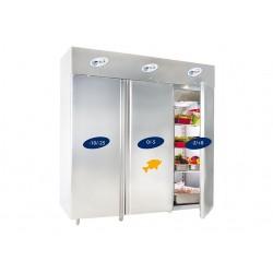 Dulap/frigider mixt 3 usi ( 1 usa refrigerare+ 1 usa refrigerare peste +1 usa congelare) 2100 litri