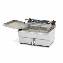 Friteuza electrica, 1 x 30 litri cu robinet de scurgere ulei