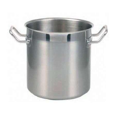 Oala inox semilucioasa, 10.8 litri