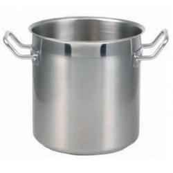 Oala inox semilucioasa, 34 litri